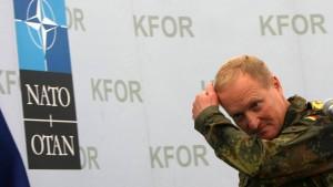 Kfor-Kommandeur sieht kriminelle Strukturen im Kosovo