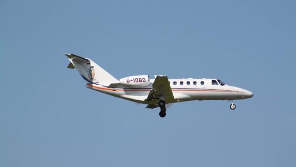Der Pilot flog ohne Visum