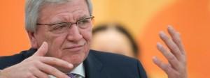 Bald am Ende der Geduld mit der SPD?: Hessens Ministerpräsident und stellvertretende CDU-Bundesvorsitzende Volker Bouffier.