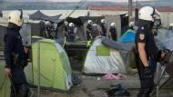 Griechenland will Flüchtlingscamp auflösen