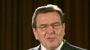 Schröders Weg nach Osten