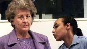 """Frühere Karadzic-Vertraute nennt sich """"nicht schuldig"""""""