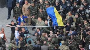 Russischer Militärattaché in Kiew festgenommen