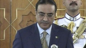 Zardari als neuer Präsident vereidigt