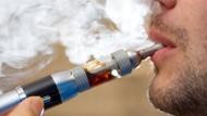 E-Zigaretten bleiben frei verkäuflich