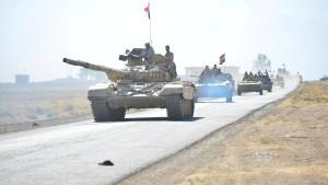 Irakische Streitkräfte rüsten sich offenbar für Militäreinsatz gegen Kurden