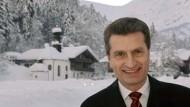 """Oettinger: """"Fragen, damit jedem und jeder klar ist, welche Werte wir haben"""""""