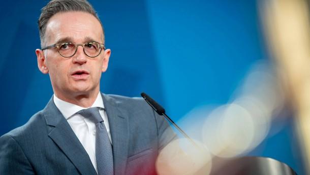 Maas fordert vom Westen Einigkeit