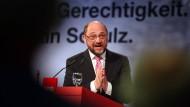 Seit Martin Schulz ihr designierter Kanzlerkandidat ist, steigen die Umfragewerte der SPD.