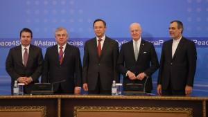 Russland, Türkei und Iran wollen Waffenruhe in Syrien überwachen