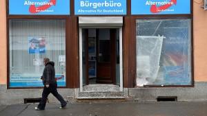 Drei Festnahmen nach Explosion vor AfD-Büro