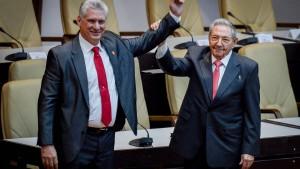 Kommunistische Partei Kubas wählt Díaz-Canel zum neuen Vorsitzenden