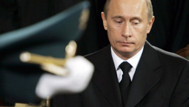Schwarze Folie Jelzin