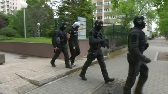 Festnahme in Straßburg