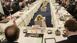 Amerika und Iran an einem Tisch
