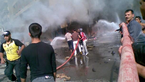 Mehr als 50 Tote bei Anschlagsserie im Irak