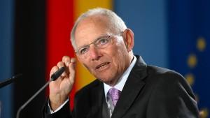 Schäuble kritisiert Bundespolitik bei Nord Stream 2