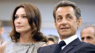 Heimlich belauscht: Carla Bruni und Nicolas Sarkozy 2010 auf Staatsbesuch in Großbritannien