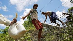 Mehr als hundert Tote bei Gefechten in Myanmar