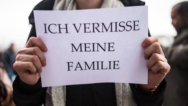 Zahl der Visa für Familiennachzug deutlich unter Obergrenze