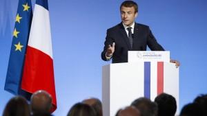 Macron: Kampf gegen Terror hat Priorität