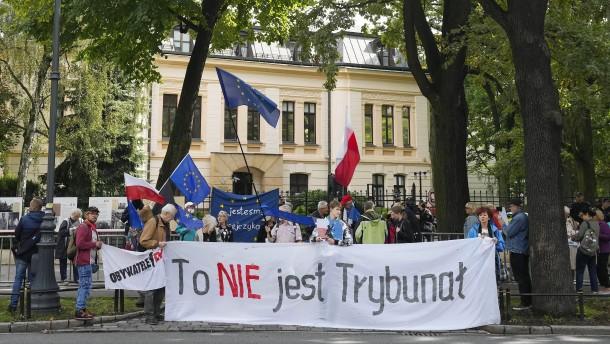 Polens Verfassungsgericht erklärt Teile des EU-Vertrags für verfassungswidrig