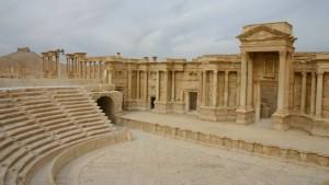 IS-Milizen sollen Statuen in Palmyra zerstört haben