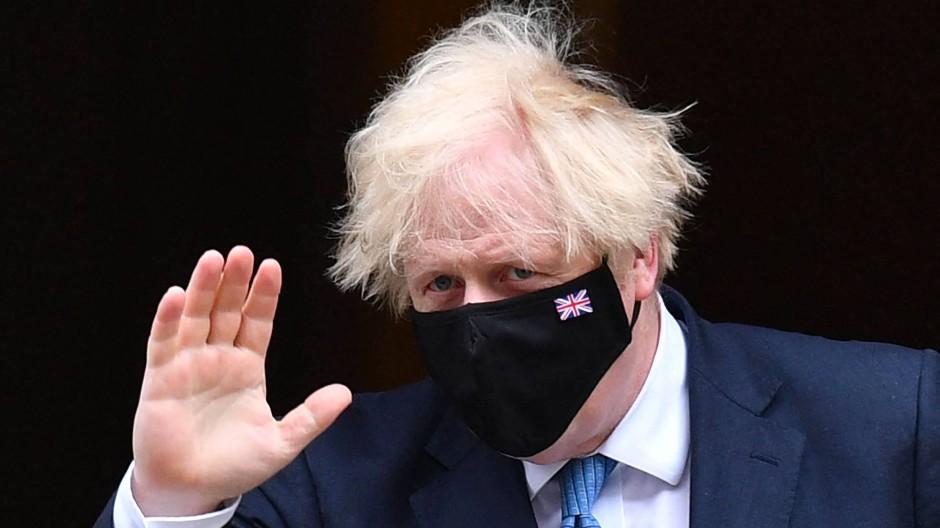 Geht auf Risiko im Spiel mit dem Virus: Der britische Premierminister Boris Johnson