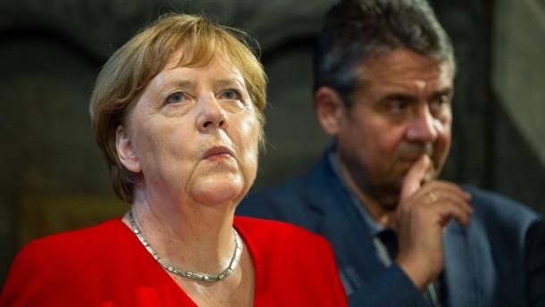 Gabriel für Merkel als EU-Ratspräsidentin