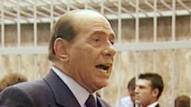 Empörter Berlusconi