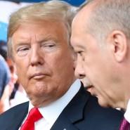 Donald Trump und Recep Tayyip Erdogan im Juli beim Nato-Gipfel in Brüssel
