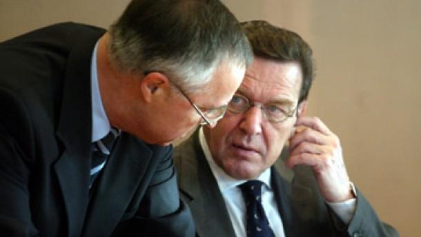 In der SPD wächst der Unmut über Schröders Politik