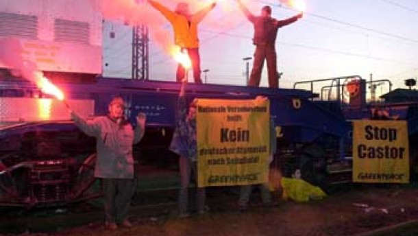 Neue Proteste gegen die neue Atompolitik