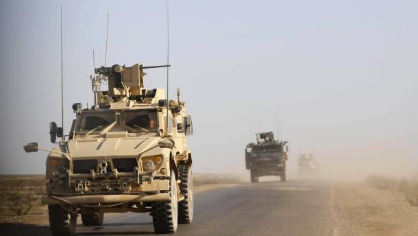 Amerikanische Armee bereitet sich auf Abzug bis April vor