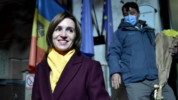Oppositionspolitikerin Sandu gewinnt Präsidentenwahl