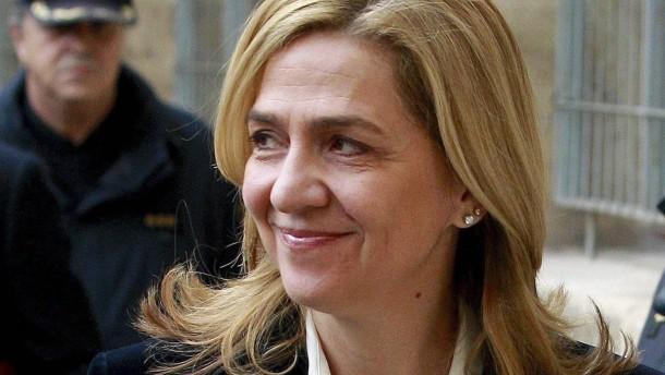 Spaniens Königsschwester muss auf die Anklagebank