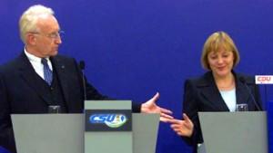 Erst Stoiber, dann Merkel
