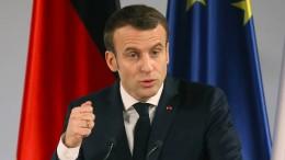 Macron pocht auf Rüstungsexporte nach Saudi-Arabien