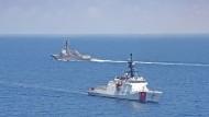 Amerikanische Militärschiffe verkehrten Ende August unweit von Taiwan.