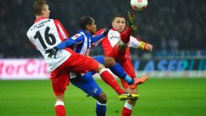 Ronny rettet Hertha einen Punkt