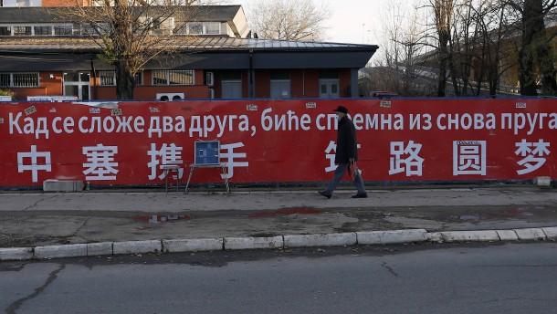 Wie China versucht, den Balkan zu unterwandern