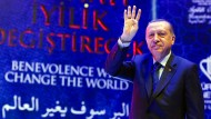 Staatspräsident Erdogan will mithilfe der Auslandstürken das Referendum gewinnen.
