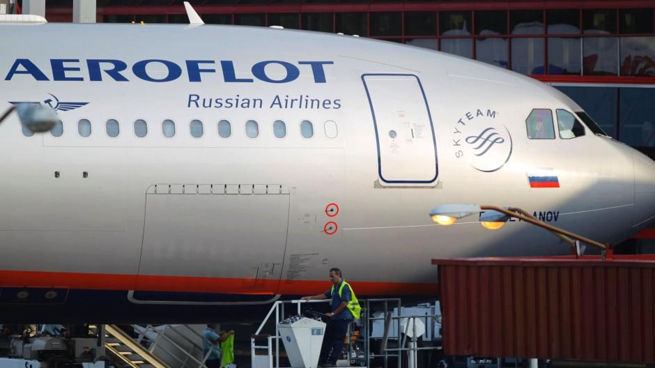 In dieser Maschine war er nicht: Aeroflot-Flug SU 150 nach Havanna