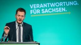 Sachsens Ministerpräsident hält Wiedereinstieg in Atomkraft für denkbar