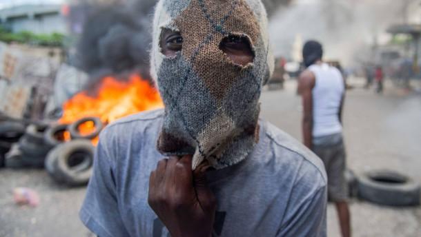 Heftige Proteste in Haitis Hauptstadt