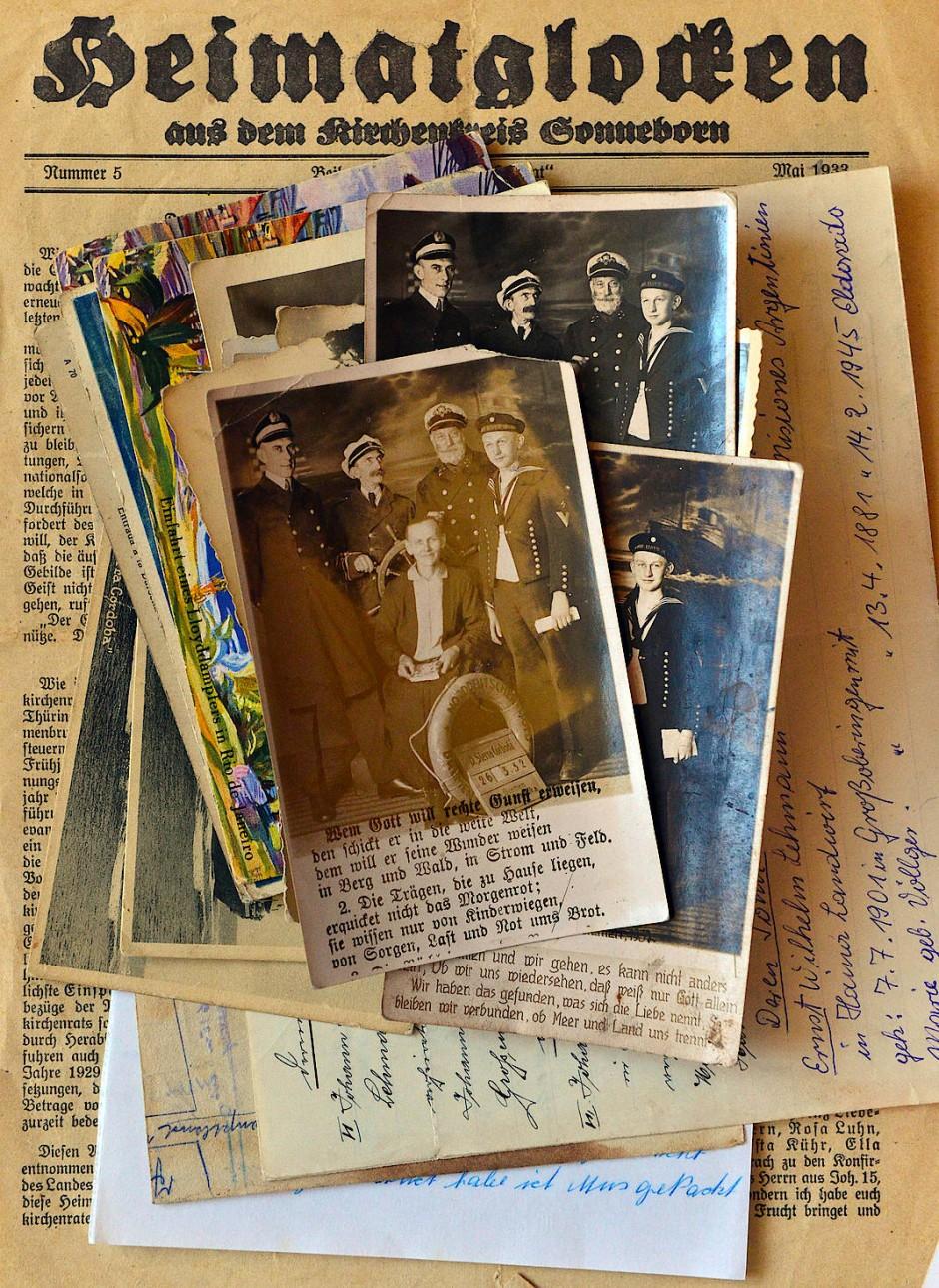Ausgewandert nach Argentinien: Fotografien aus Briefsendungen in der Forschungsbibliothek im Schloss Friedenstein in Gotha