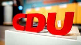Niedersächsische CDU verschiebt Landesparteitag