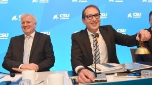 """Dobrindt warnt SPD vor Themen """"aus der Mottenkiste"""""""