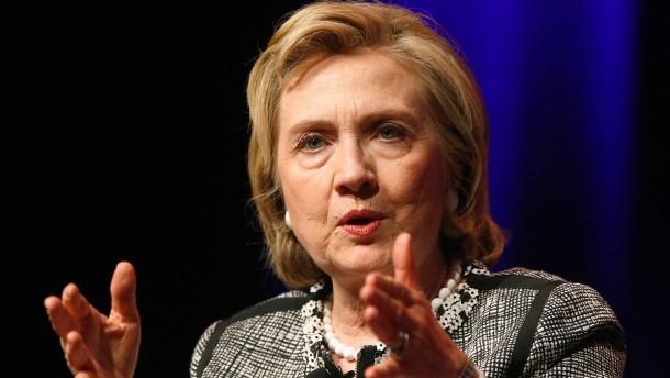 Hillary Clinton schließt No-Spy-Abkommen aus