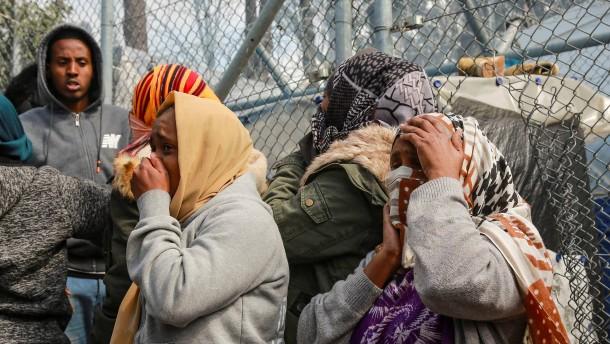 """Steinmeier sieht Lage in Flüchtlingslagern als """"dramatisch"""" an"""